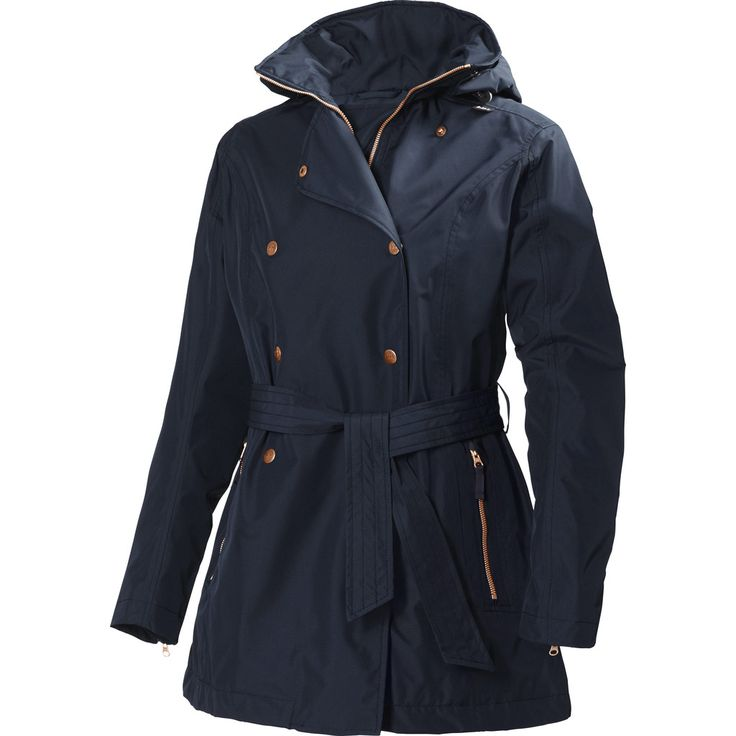 Helly Hansen Women's Welsey Trench | Navy