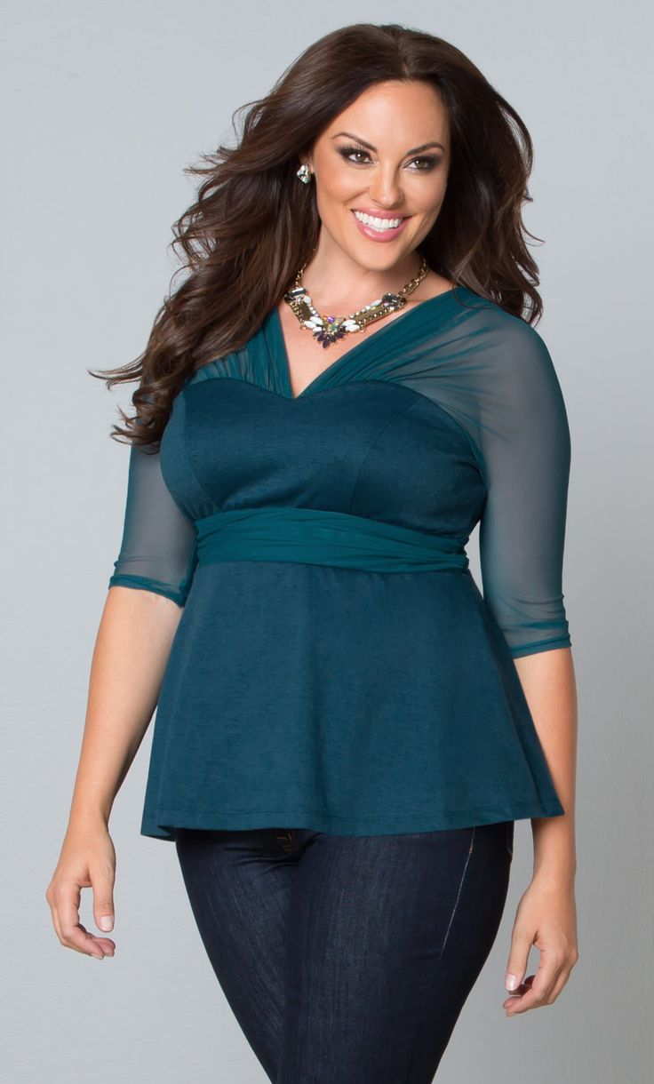 Our Top 10 Must Have Baby Items: Our Plus Size Pretty Peplum Mesh Top Is A Modern Take On A