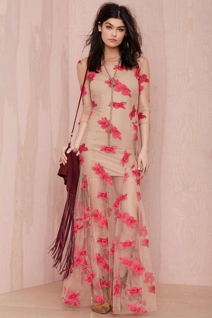 For Love and Lemons Evangeline Embroidered Dress