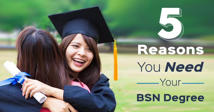 An associate's degree is a great place to start, but we also believe in a these 5 reasons you should earn your BSN degree as soon as possible.
