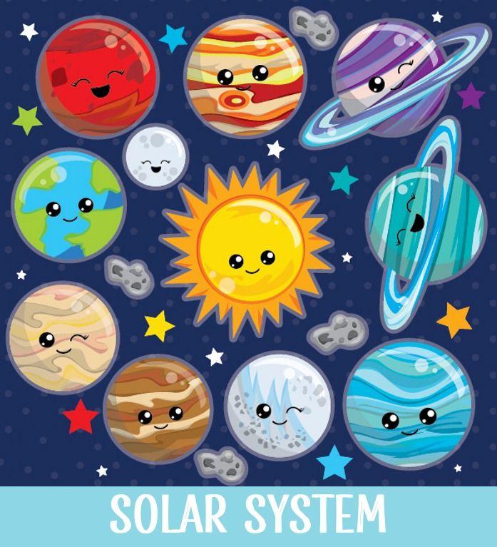 Resultado De Imagen Para Planetas Animados Sistema Solar Para Ninos Proyectos Espaciales Sistema Solar Maqueta