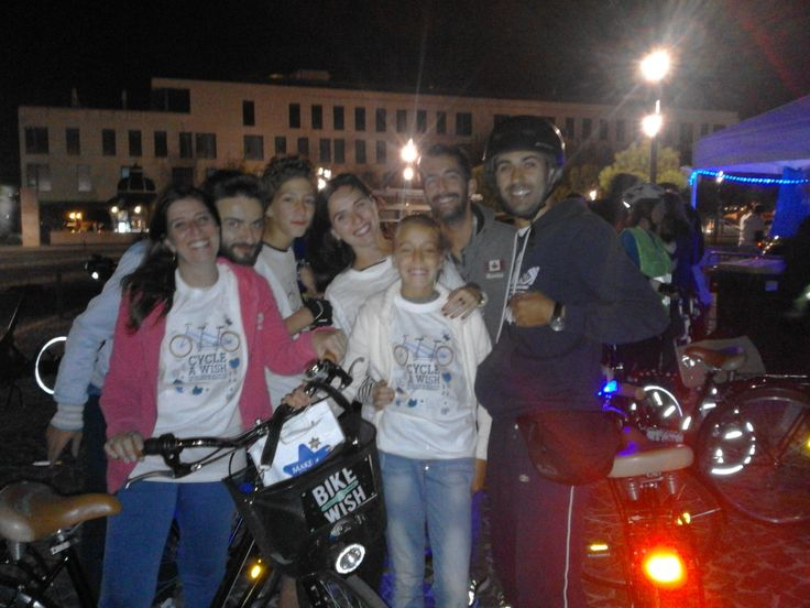 Cycle A Wish by night 2015 Make A Wish Portugal