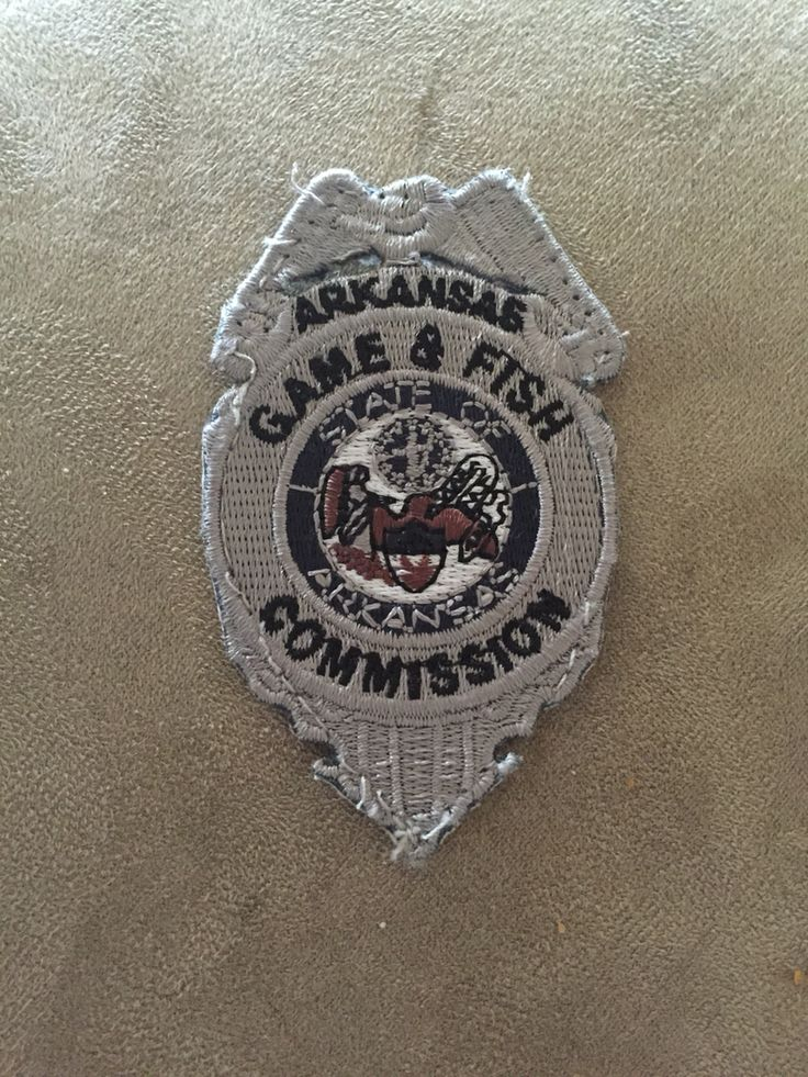 Arkansas Game and Fish Commission Badge Arkansas game
