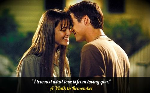a walk to remember quotes - photo #23