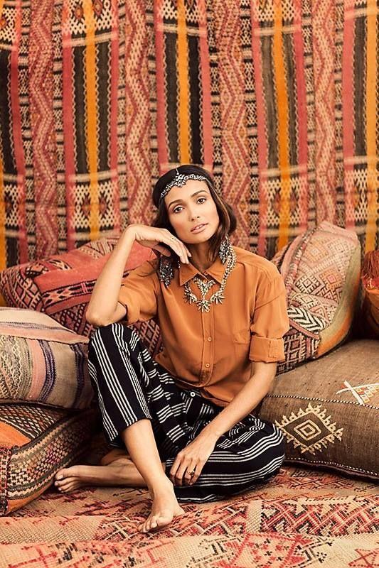 #Ethnic #bohemian #fashion