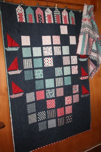The Boat House – quilt Kit