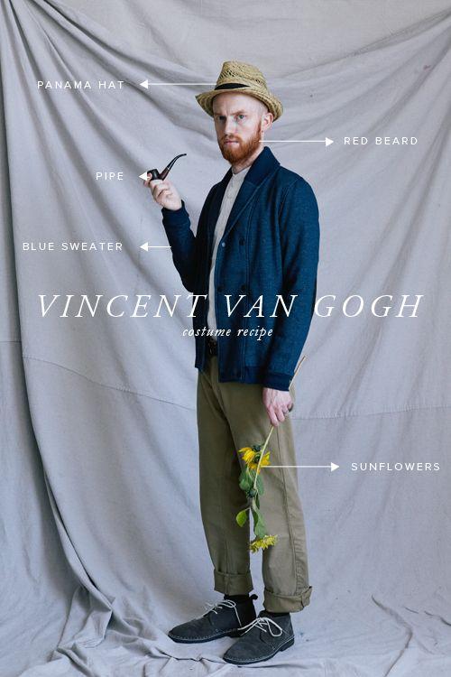 Vincent Van Gogh, Painting, Art, Costume I Karneval, Fasching, Kostüm, Verkleidung, Malerei