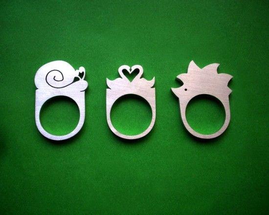 Metal animal/creature jewelry.