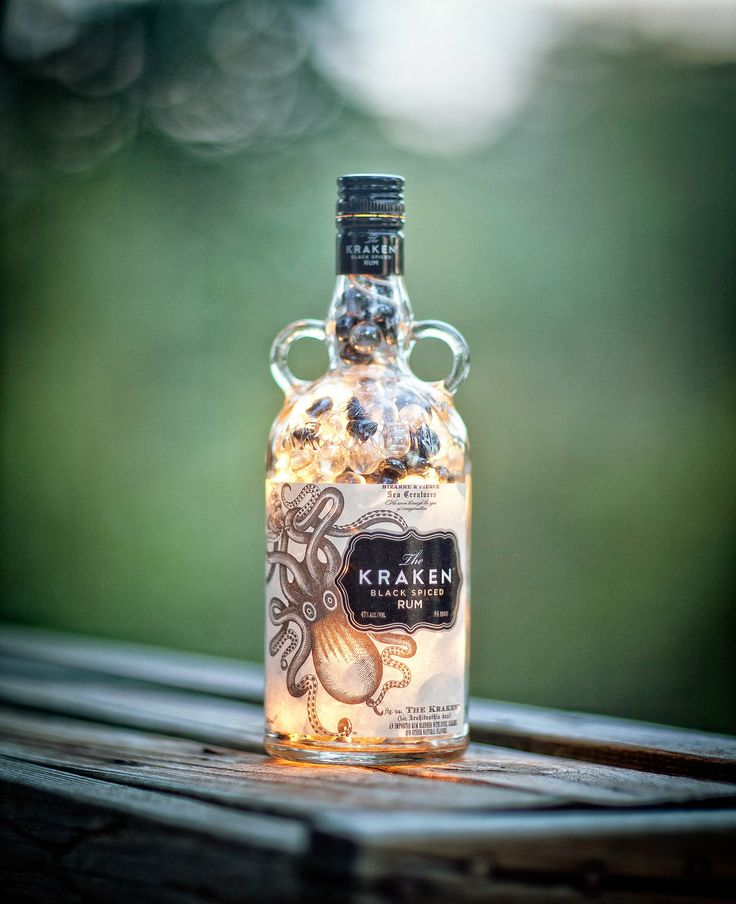 36 best bottle workx images on pinterest bottle lamps - Kraken rum pictures ...