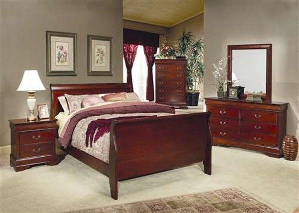 Coaster Furniture - Louis Phillipe Bedroom Cal King Bed - C200431KW