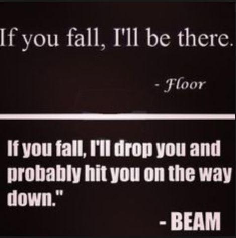 True gymnastics saying!!!!                                                                                                                                                                                 More
