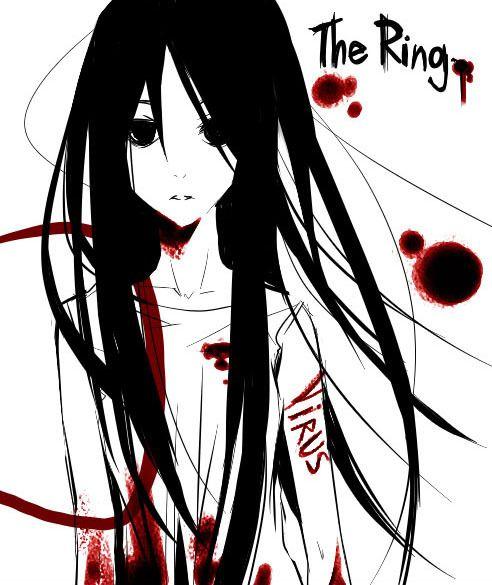 Ring By Omtn Dnfanzz Japanese Horror Anime Anime Images