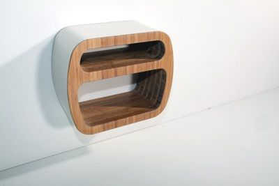 Shelftube,  lacquered and oiled bamboo,  from Designermade AS.  Furniture Bergen Norway Møbler.
