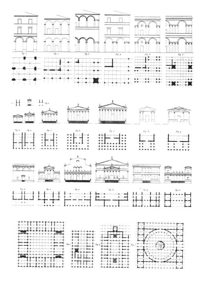 Jean Nicolas Durand (1802-1805, Precis des lecons d'Architecture)
