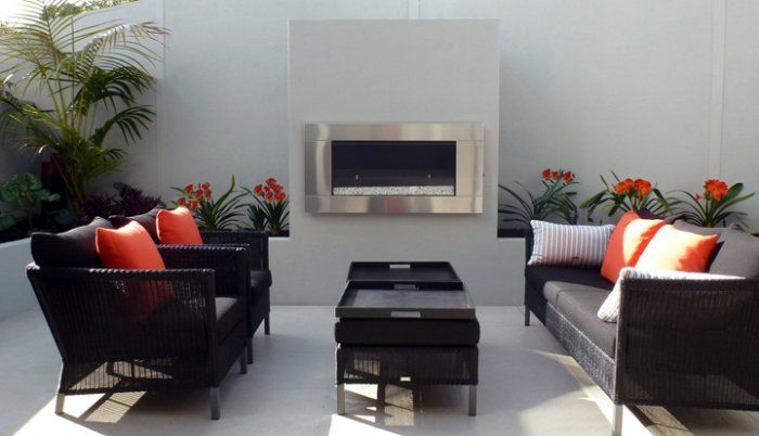 Escea EF5000 outdoor gas fire - Outdoor Heating & Fireplaces - Heatworks