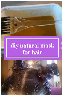 DIY natural mask for hair : perfect for damaged hair!
