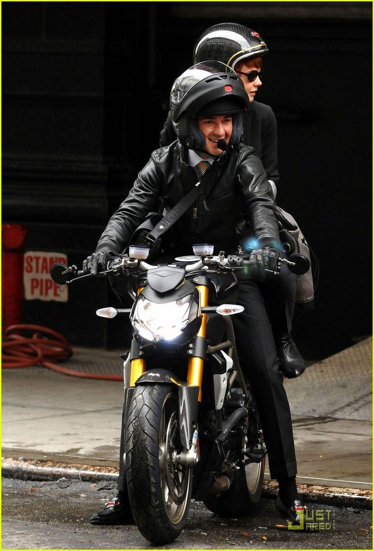 shia labeouf carey mulligan motorcycle 08 Motos, Honda