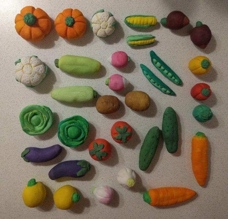 картинки лепка фрукты для игры в магазин подготовительная группа это время