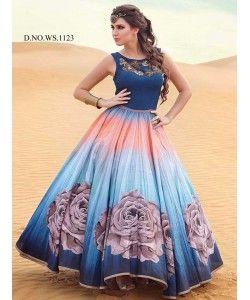Latest Fancy Designer Gown  http://www.kmozi.com/latest-fancy-designer-gown-897