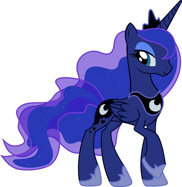 =3 princess Luna be my leader =3