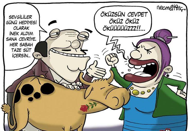 Sizi Güldürecek Komik Aşk Karikatürleri