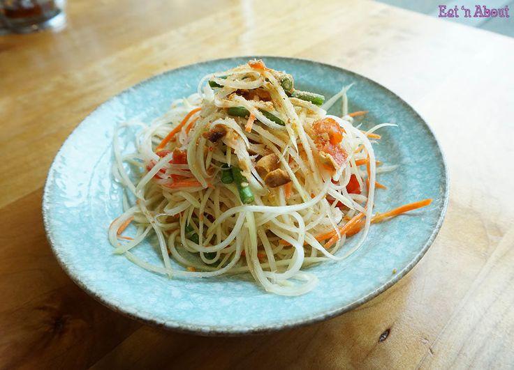 Longtail Kitchen @ New Westminster - Som Dtom Green Papaya Salad