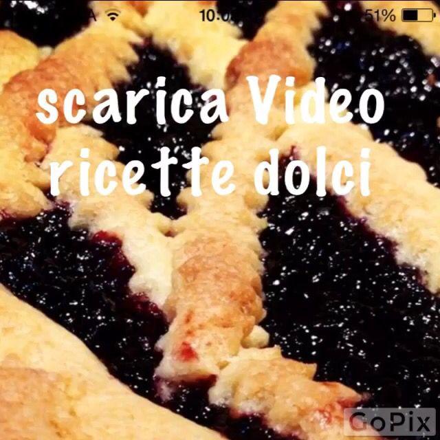 Scarica l'app VIDEO RICETTE DOLCI