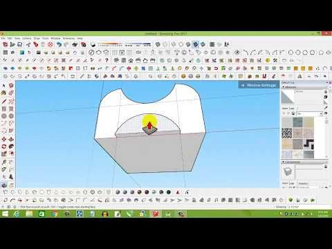 How To Round Corner Any Object In Google Sketchup Round Corner