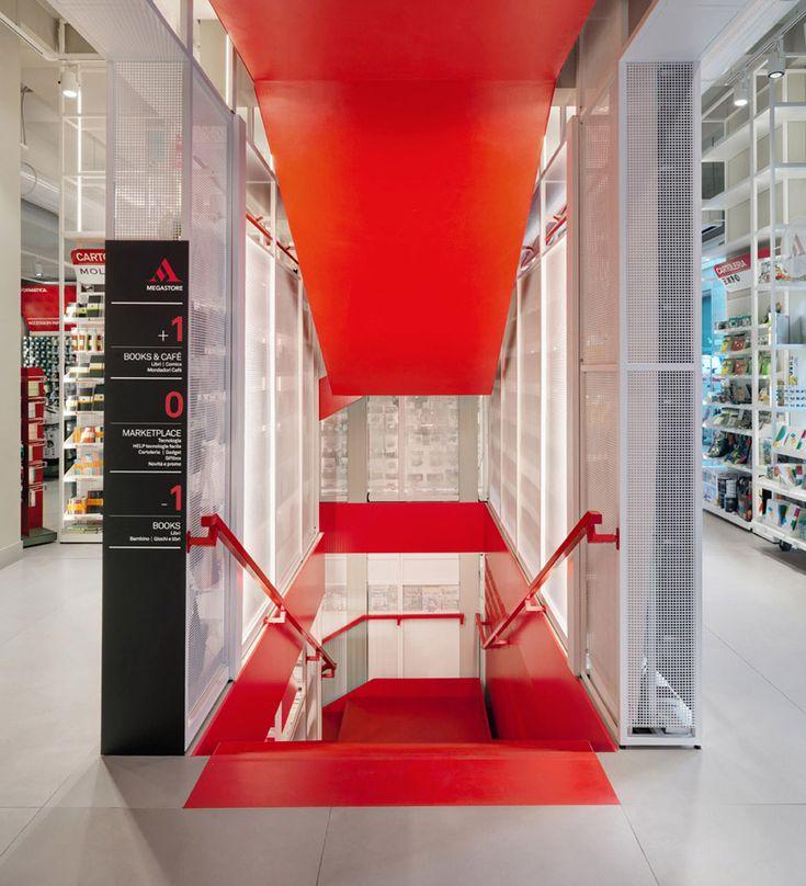 migliore servetto architects mondadori concept store milan italy designboom
