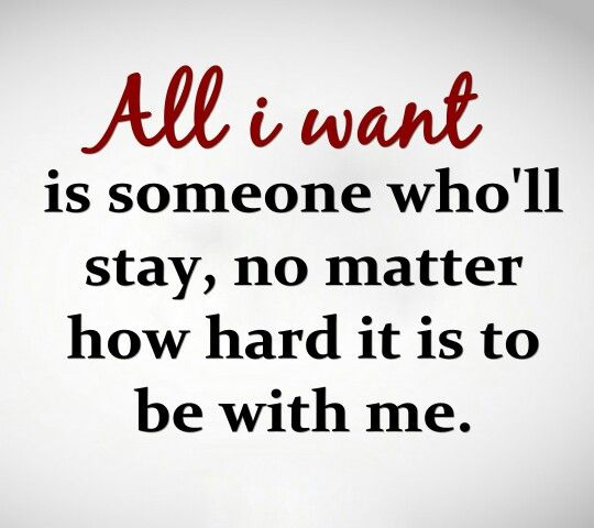 Am I really that horrible of a person that no ok me can stand to stay with me. Some times I think it was better to be degrading to myself then to be hurt and alone