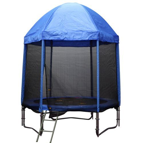 8ft Trampoline Roof - Blue