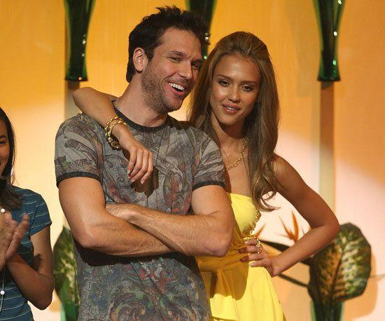 Pin for Later: A Look Back at the Best of the Teen Choice Awards  Dane Cook and Jessica Alba cozied up on stage in 2007.