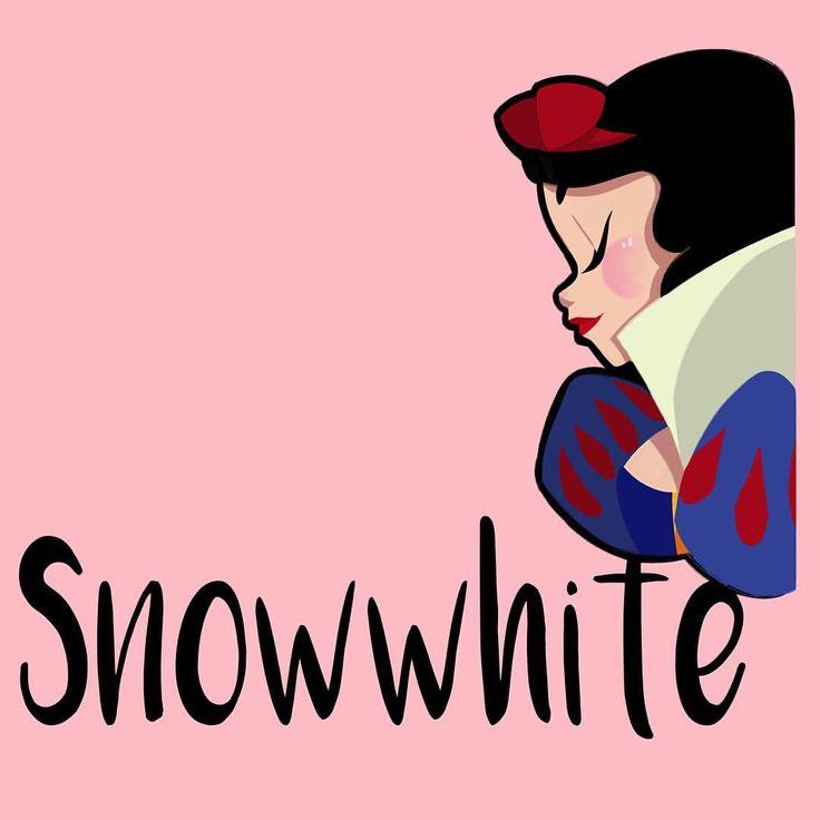 Hoy y rsquo; s del almuerzo que se decidió a #snowwhite.  #Disney #drawing #doodle #girlsinanimation