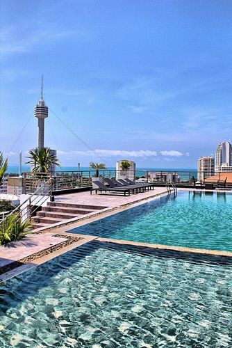 Relaxation is ... the pool with a view at Absolute Resorts and Hotels, Pattaya South Beach. One of our #AbsoluteDestinations. Please visit http://www.absoluteresorts.com/special-offers/