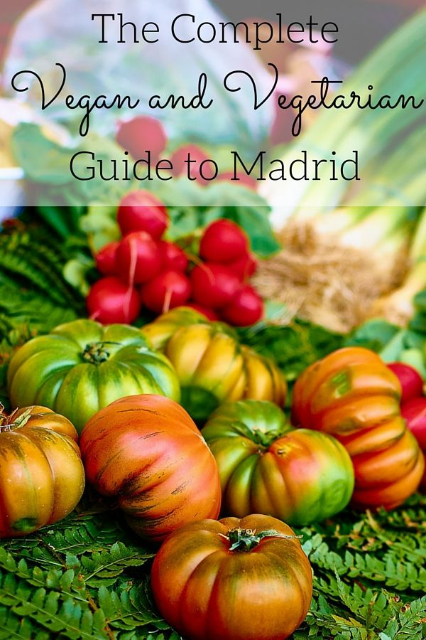Looking for meat free alternatives? Here's our vegan and vegetarian guide to Madrid full of delicious tapas, restaurants and shops to suit your needs!
