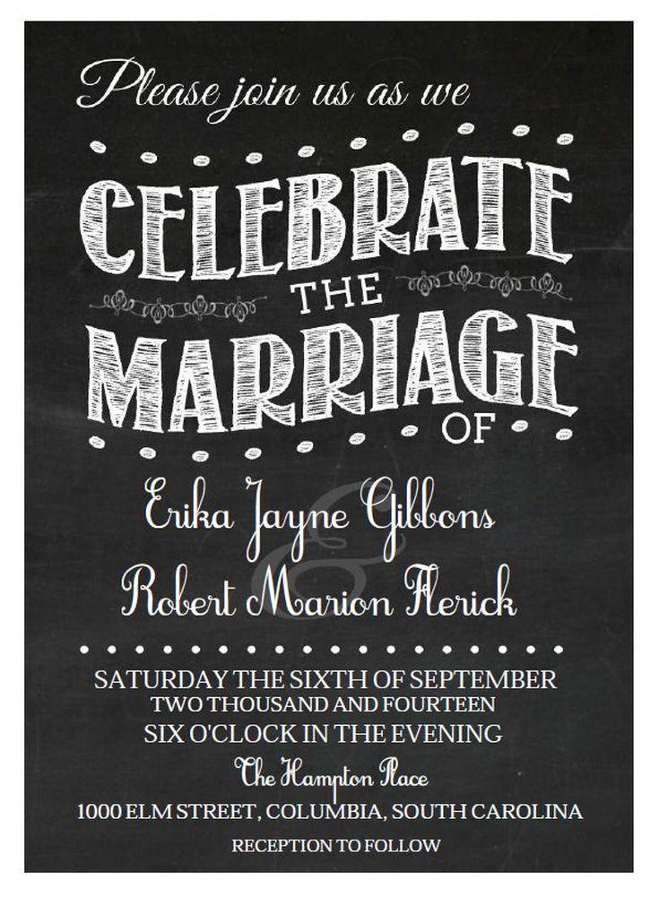 Přes 25 nejlepších nápadů na téma Free Wedding Invitation - publisher invitation templates free