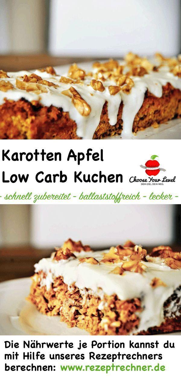 Low Carb Karottenkuchen Abnehmen Rezepte Ohne Kohlenhydrate Low