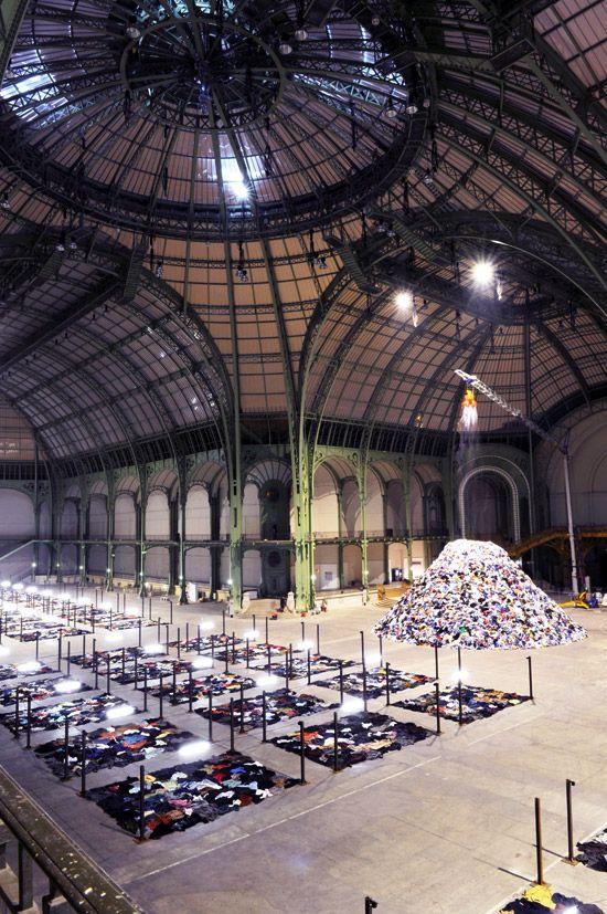 Christian Boltanski - Personnes, Monumenta 2010