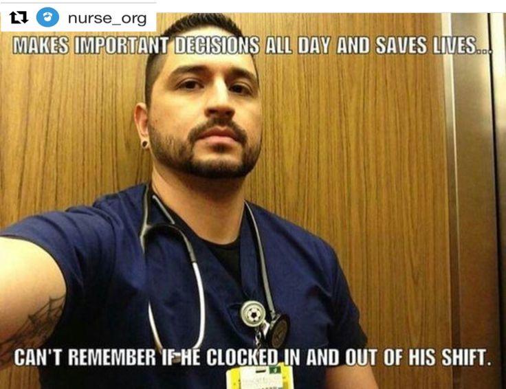 Credits to nurse Mendoza  so true!