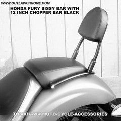 Back Rest or Sissy Bar Kit For Honda Fury – MotoGateway, Inc.