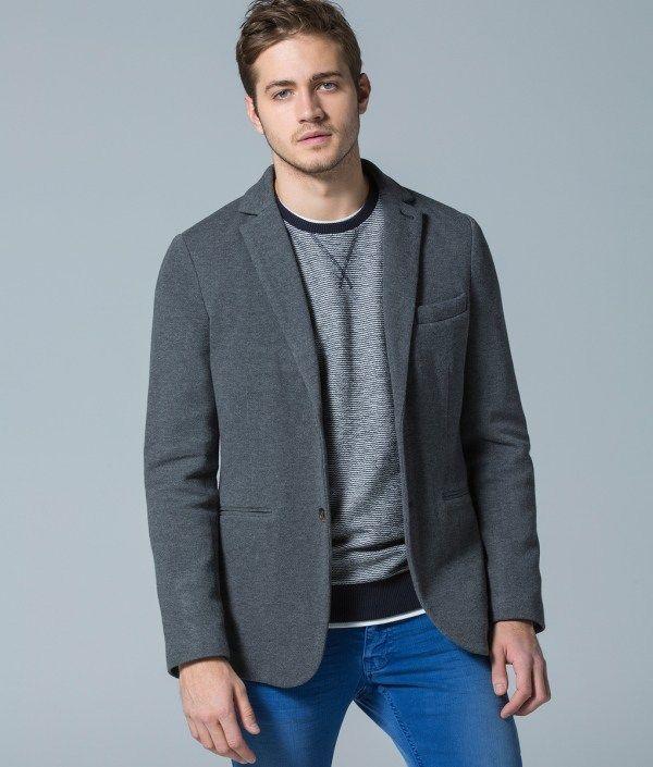Catálogo Springfield 2015   Tendencias Moda Hombre blazer gris
