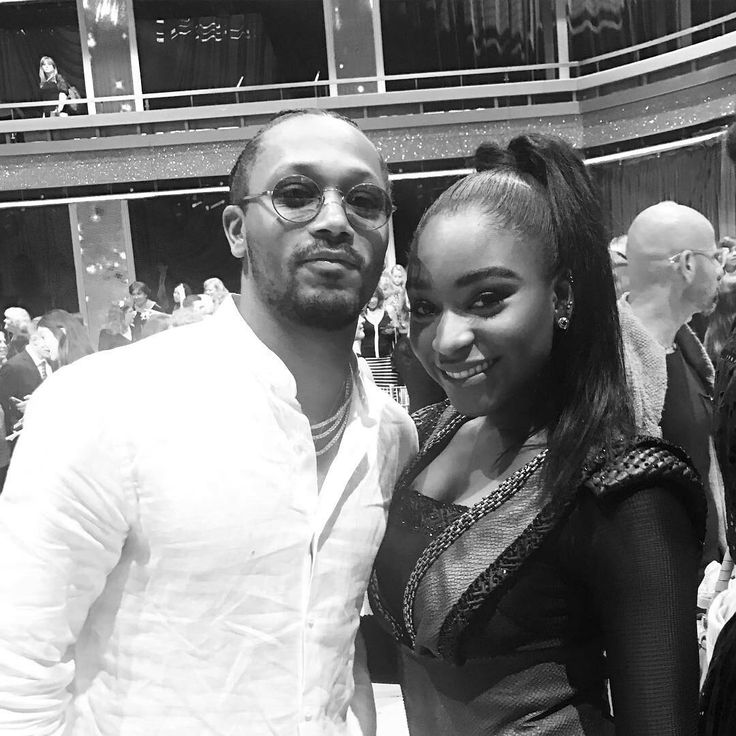 Normani Kordei and Romeo Miller
