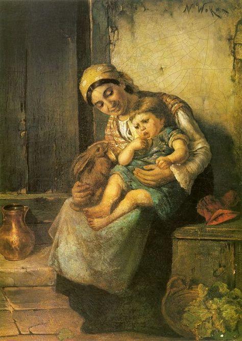 Νικόλαος Βώκος-Η αγκαλιά της μητέρας