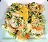Shrimp, Crab and Avocado Salad Low carb! http://brigitteskitchenandhome.blogspot.ca/2013/08/shrimp-crab-and-avocado-salad.html