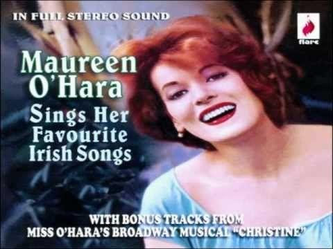 """Maureen O'Hara sings """"The Rich Man Died"""""""