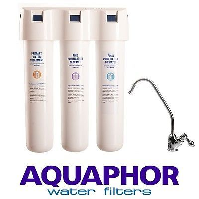 #Aquaphor crystal three #stage #carbon fibre block inline drinking water filter t,  View more on the LINK: 	http://www.zeppy.io/product/gb/2/321692558225/