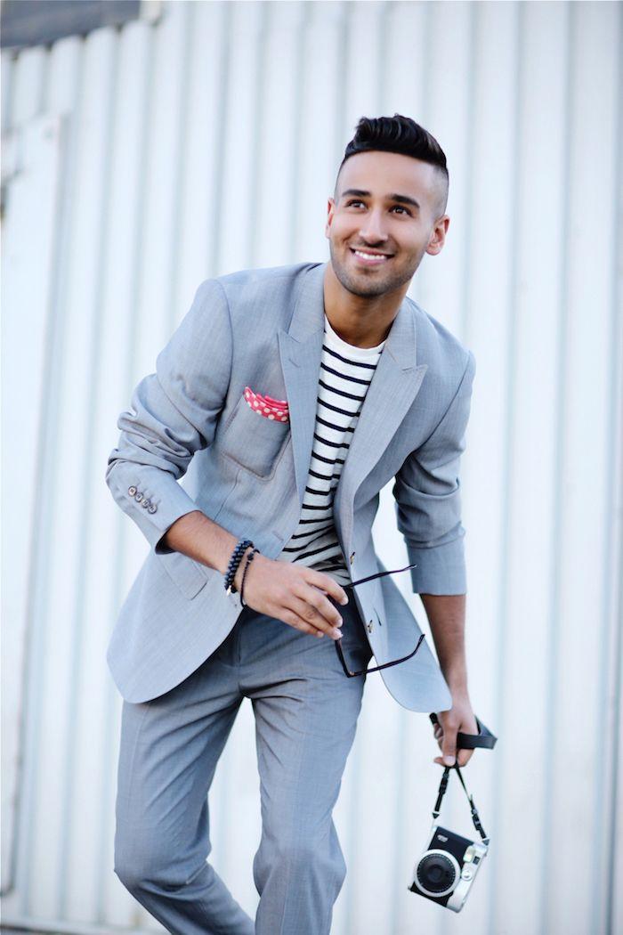 best website d7bae 1b947 ▷ 1001 + Ideen Thema: grauer Anzug welches Hemd passt dazu ...