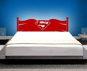Superman bed frame.
