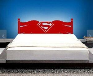 superman bed frame