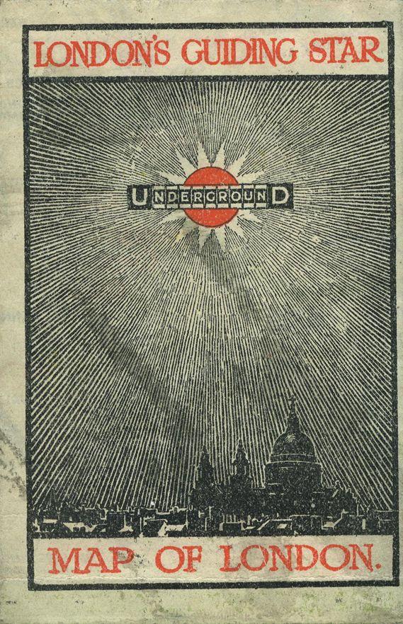 Pocket Underground map from 1912